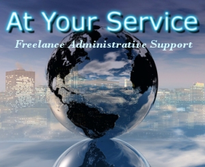 At Your Service Freelance Administrative Support Logo